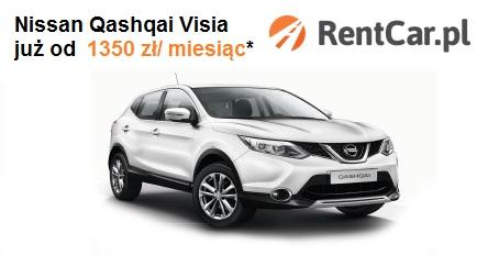 Wynajem długoterminowy Nissan Qashqai Visia